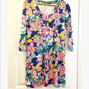 Lilly Pulitzer Palmetto V Neck Dress XS